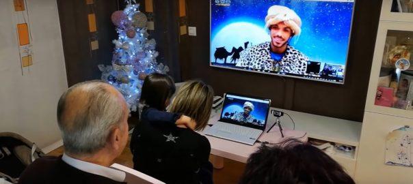 MÁS DE 4000 NIÑOS DE DIVERSOS PUNTOS DE ESPAÑA HABLARON POR VIDEOCONFERENCIA CON LOS REYES MAGOS EN ESTA PIONERA INICIATIVA