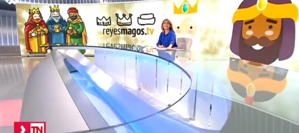 El privilegio para los niños de Brunete de poder hablar por videoconferencia con los Reyes Magos
